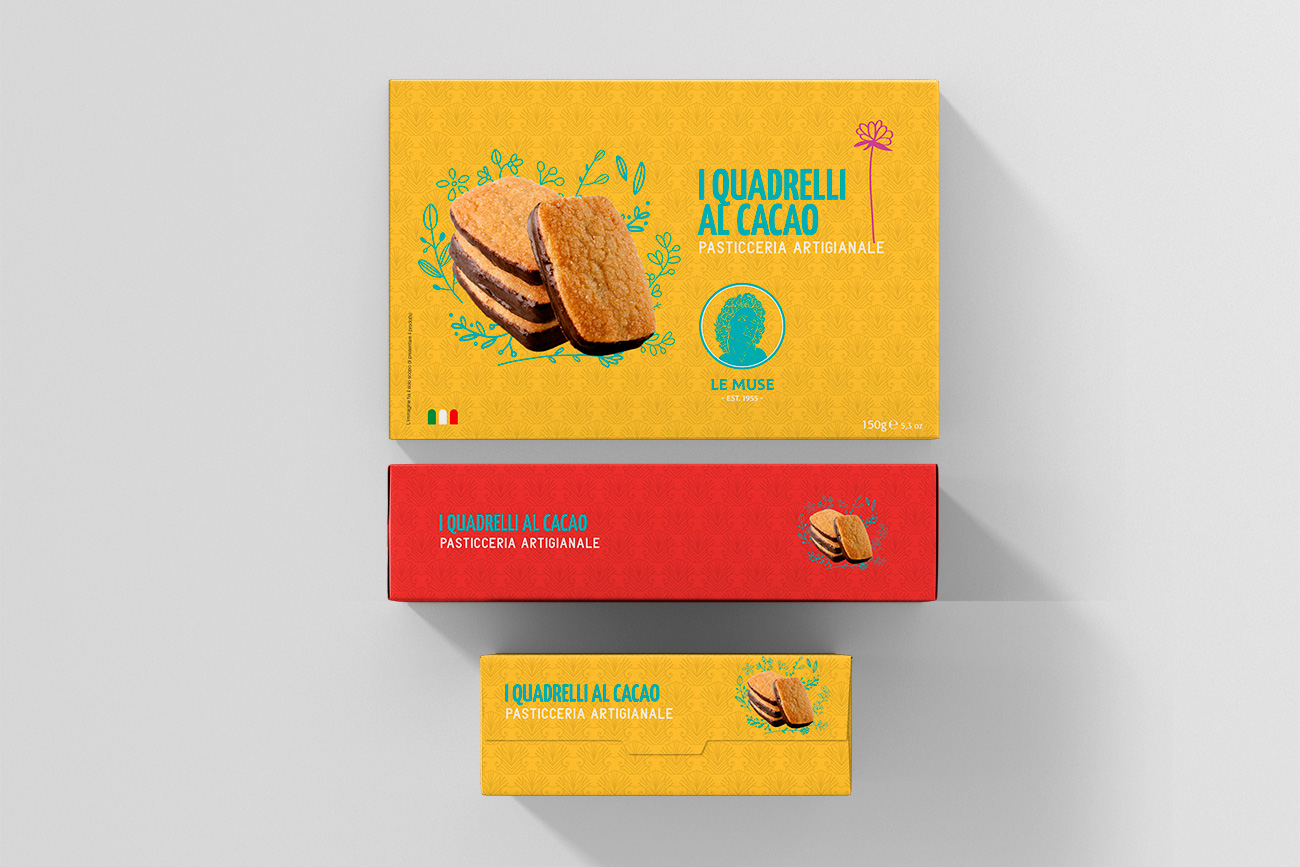 Realizzazione packaging etichette dolciaria food avellino benevento napoli caserta