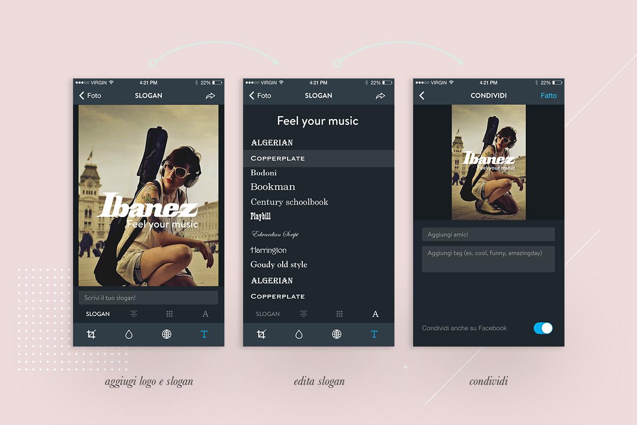 Progettazione User Interface Design Shambles App