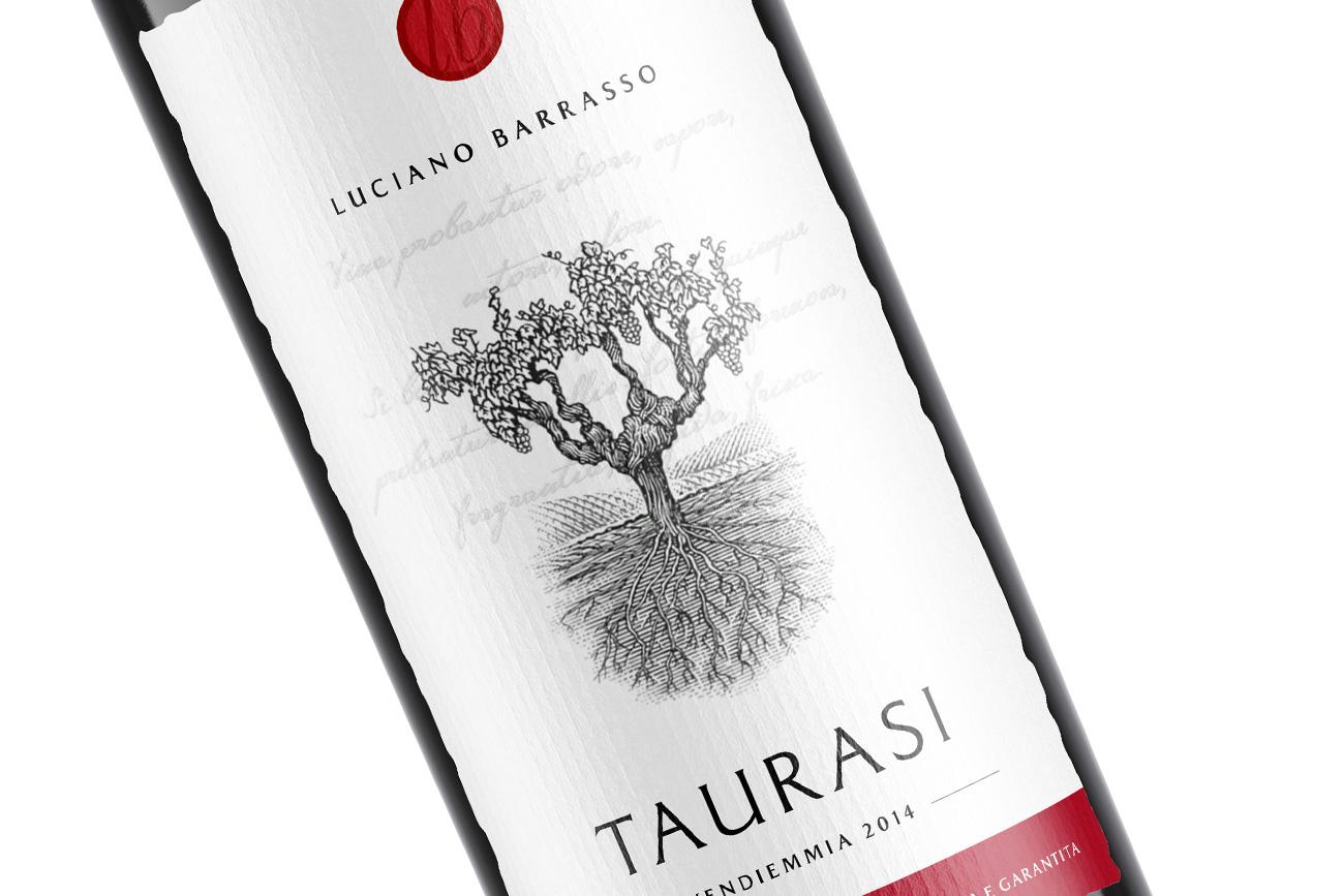 progettazione grafica etichette vino luciano barrasso taurasi fiano avellino