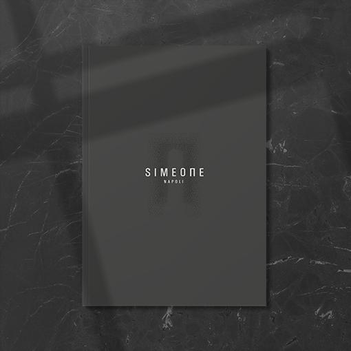 progettazione grafica lookbook catalogo simeone napoli
