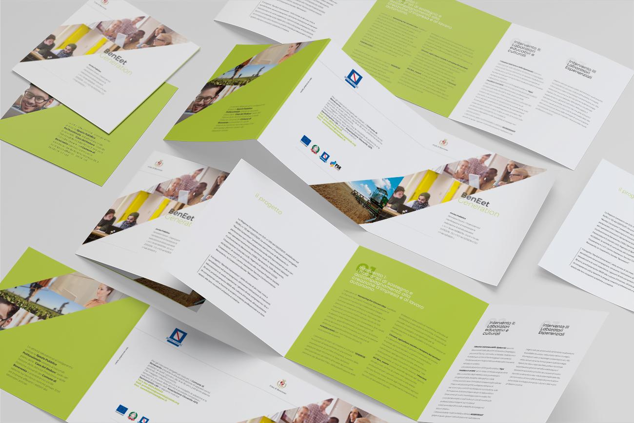 progetto grafico brochure comune benevento