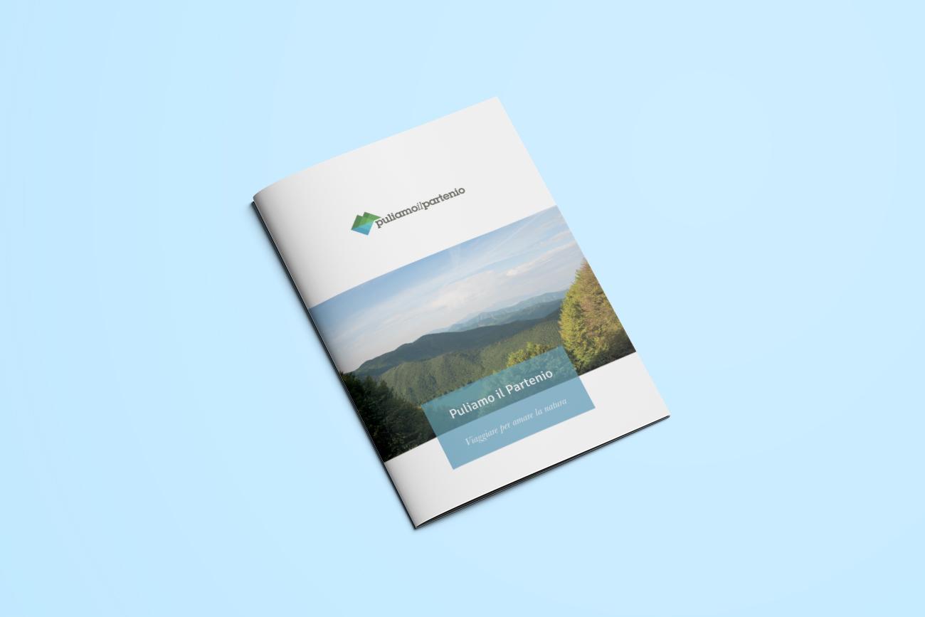 progetto grafico brochure partenio avellino