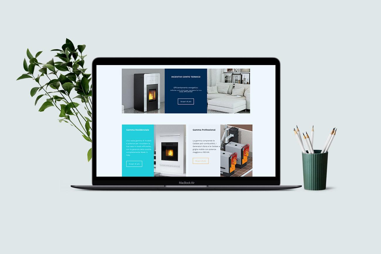 Progettazione grafica realizzazione sito web pasqualicchio benevento