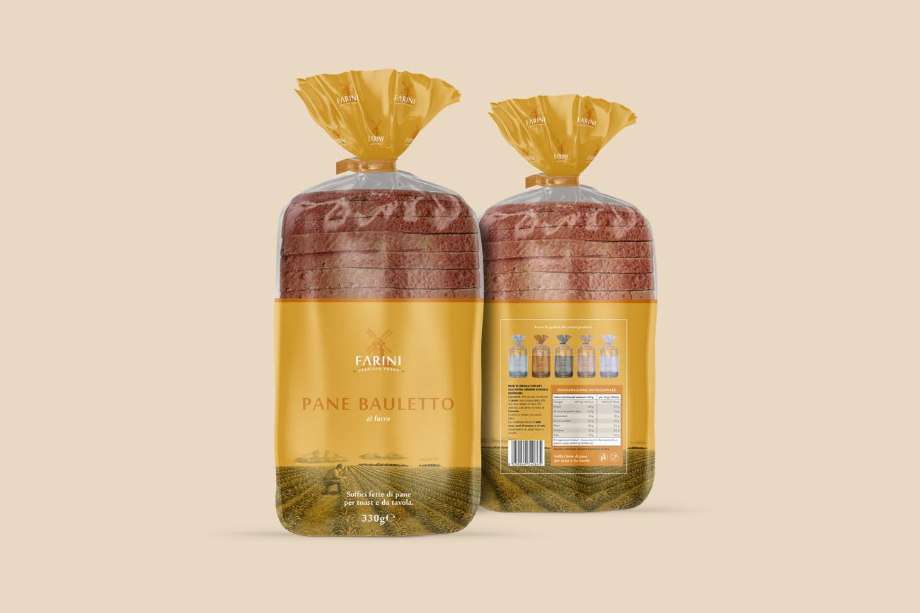 progettazione grafica packaging bakery farini napoli avellino