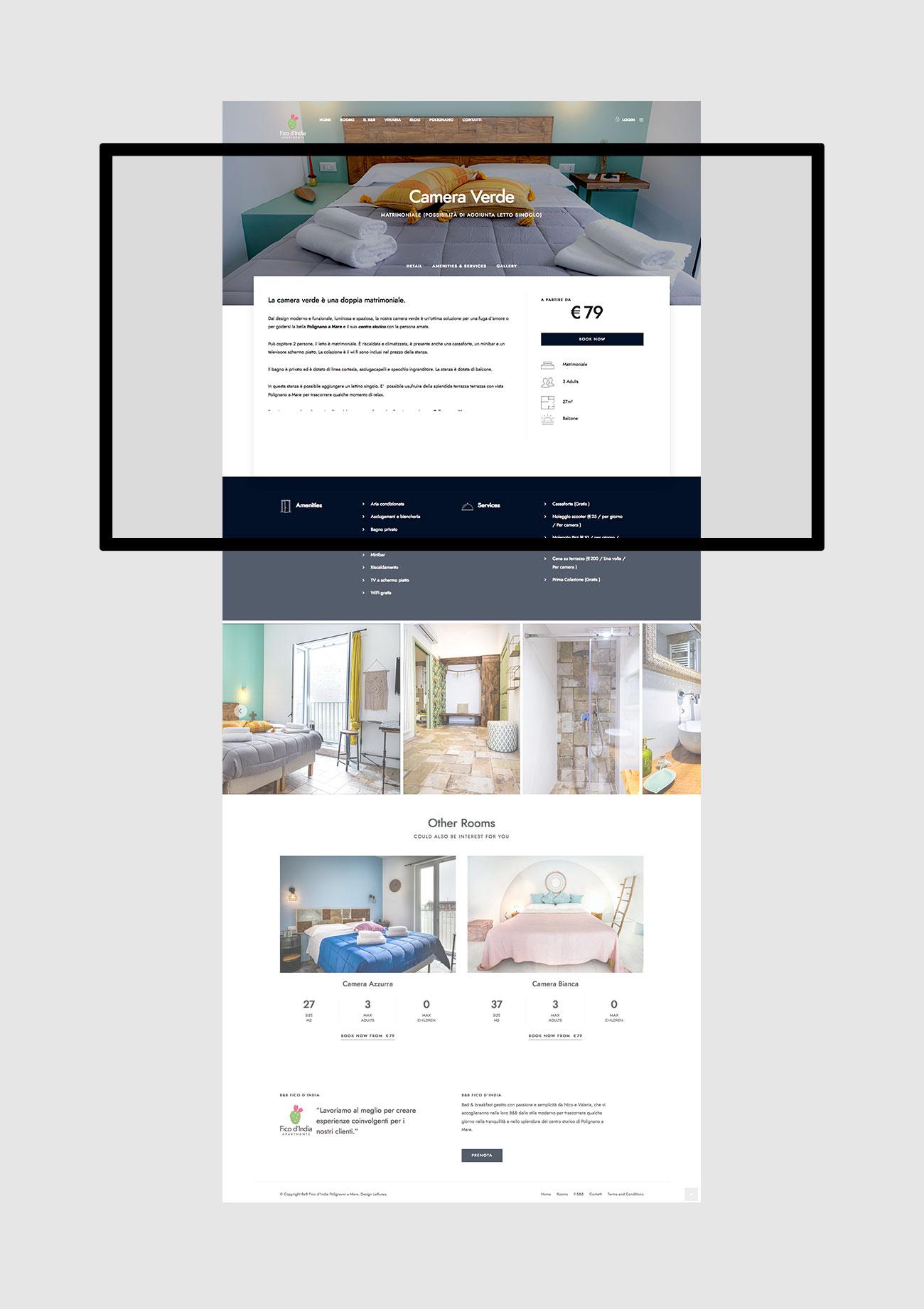 realizzazione e progettazione siti web con gestionale per prenotazione alberghi polignao a mare napoli costiera amalfitana costiera sorrentina salerno