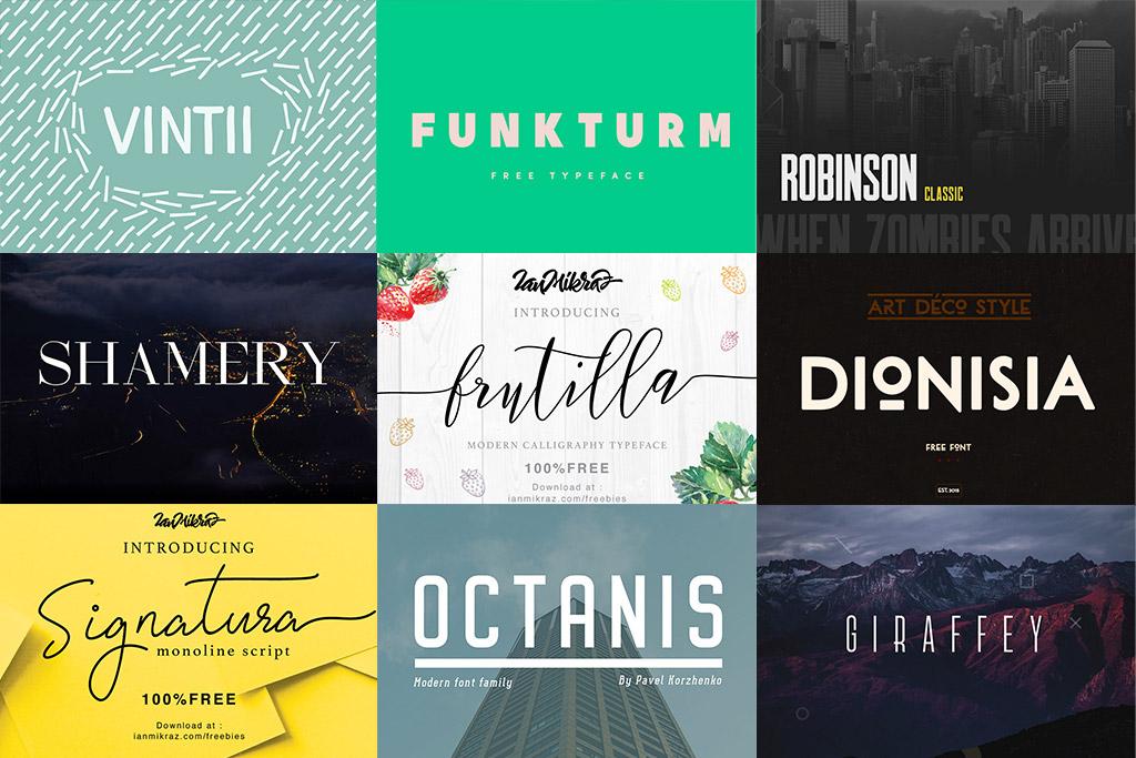 10 font gratuiti di alta qualita da scaricare gratis. risorse gratuite per grafici e web designer