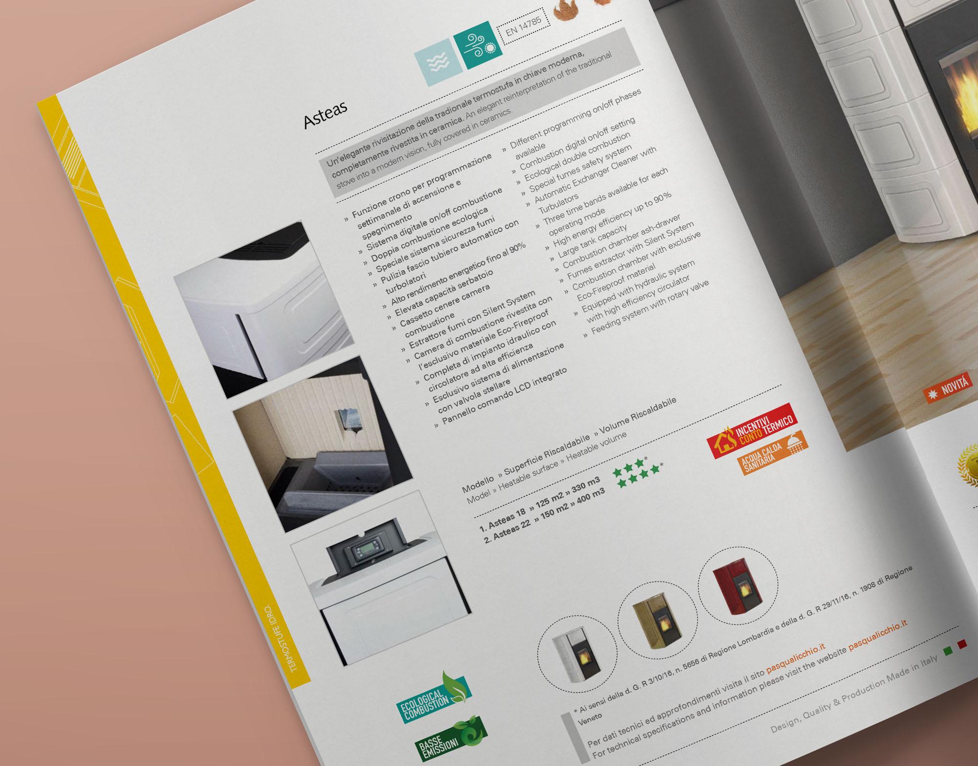 progettazione grafica catalogo brochure napoli studio grafico